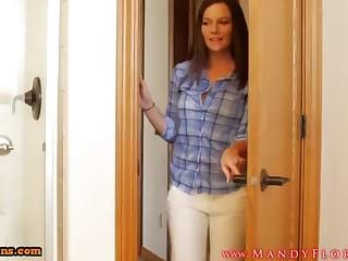 STEPMOMLOVER.COM: mummy training hump to her sonnie four