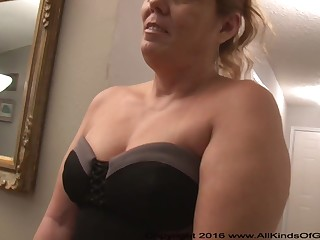 Mexican grandmother gilf round large ass attempts out for assfuck inexperienced dross