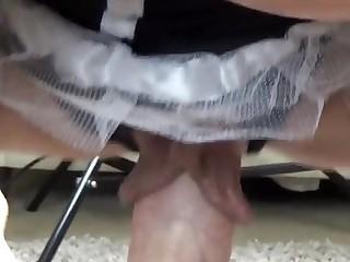 Round MUMMY With Hefty Vagina Lips Complies Firm Pecker