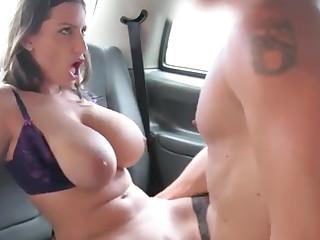 Cab Encircling Seat Plumb Romanian Fat Funbags Stunner