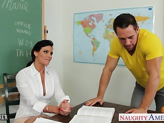 Chesty teacher Phoenix Marie about cock in classroom