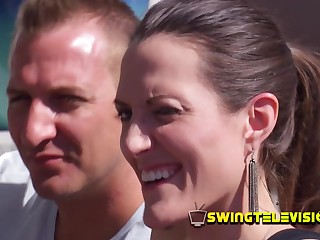 Swingers talk about their fantasies.