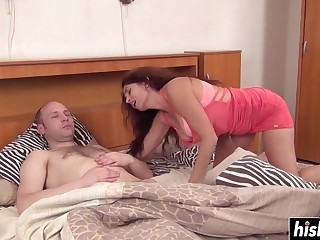 Naughty mommy Karolina wanna fuck