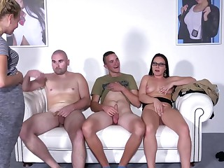 Casting Wendy Moon deals two dudes get a bang a pro