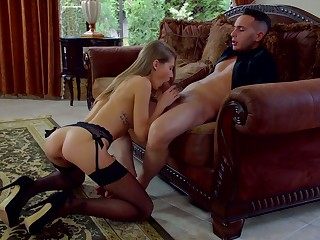 Sexy Sherlock leggy gal llano panties Tiffany Tatum wanna be banged missionary