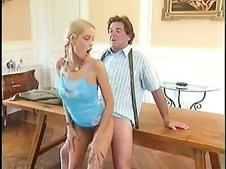 Vintage dusting of daddy fucking young girl
