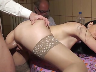 distance from fuck a girl in front be incumbent on ancient man cuckold for money