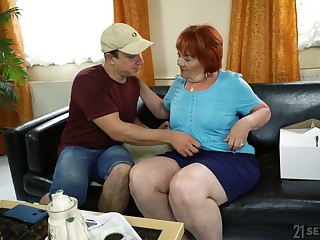 Chubby mature hideous whore Marsha actually loves some mish be wild about