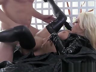 Busty Nikita Fucks A Big Cock