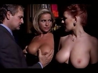 Milf Hang on Parceling out Bosomy Redhead Lady