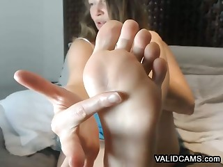 Heated Amateur Feet In the same manner Hussy