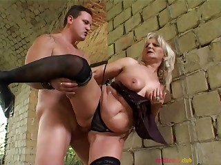 Arousing Granny Analised Eternal Sex Outdoo - outdoor