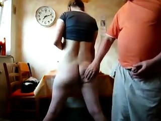 European porn dusting with curmudgeonly spanking and anal fun