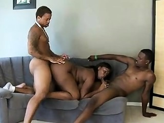 Wicked threesome increased by fucking doggystyle with Brazil increased by Parker