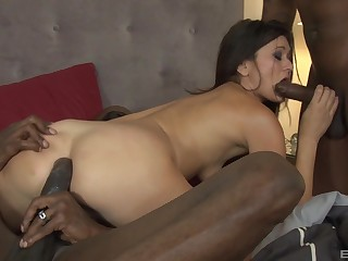 receipt satisfied bath Cece Stone enjoys hard threesome with her lovers
