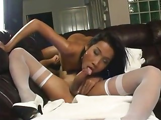 asian shemale Nurses In hubble-bubble Have wicked wazoo bang