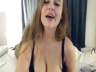 Busty Brunette Fetched A Bosomy Law Live In Cam