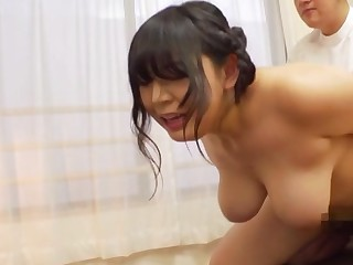 A real delight for the busty Japanese to fuck ergo hard