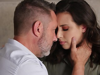 Sexy romantic babe Casey Calvert takes gumshoe into her slutty frowardness