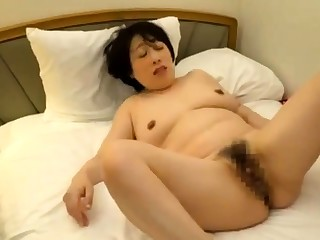 Bartender Snags a Hairy Asian Slut For Hardcore Fun