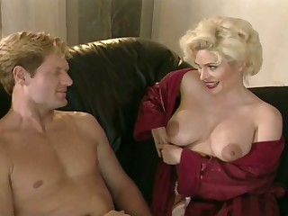 That rack is made for loving and this busty lady loves seducing forebears Public