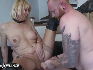 Anais Horny of age very hard fucked, fisted and double
