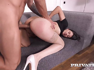 Private.com - Slutty Become man Tiny Tina Fucks As Hubby Watches!